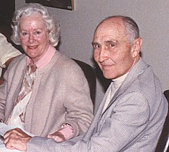 Dix and Peg Loesch at Chigago Reunion in 1990