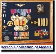 Hersch`s collection of Medals and Ribbons