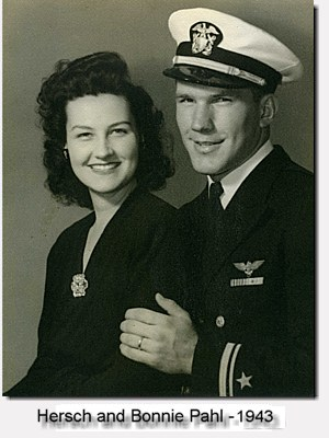 Herschel and Bonnie soon after their marriage in 1943